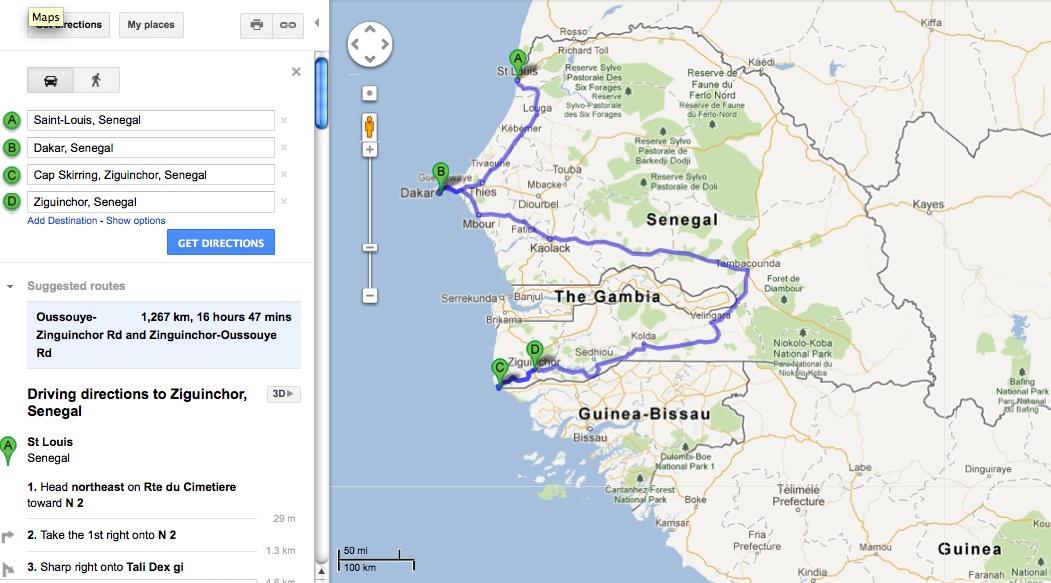 Maps wanderfull365