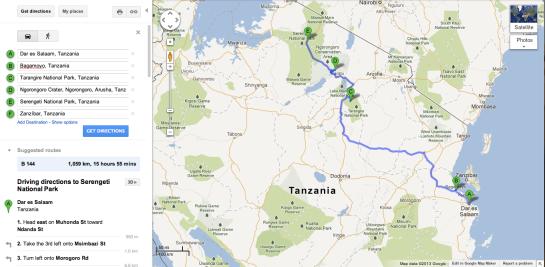 Tanzania 2012