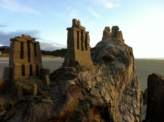 Seaside Sand Temple